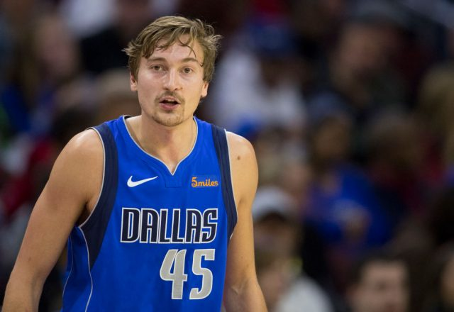 Ryan Broekhoff of the Dallas Mavericks