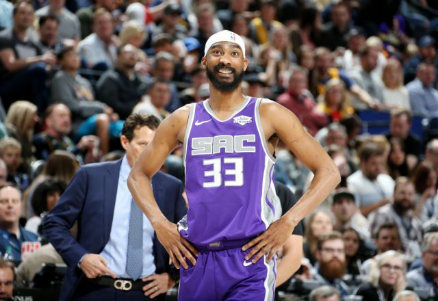 Corey Brewer of the Sacramento Kings