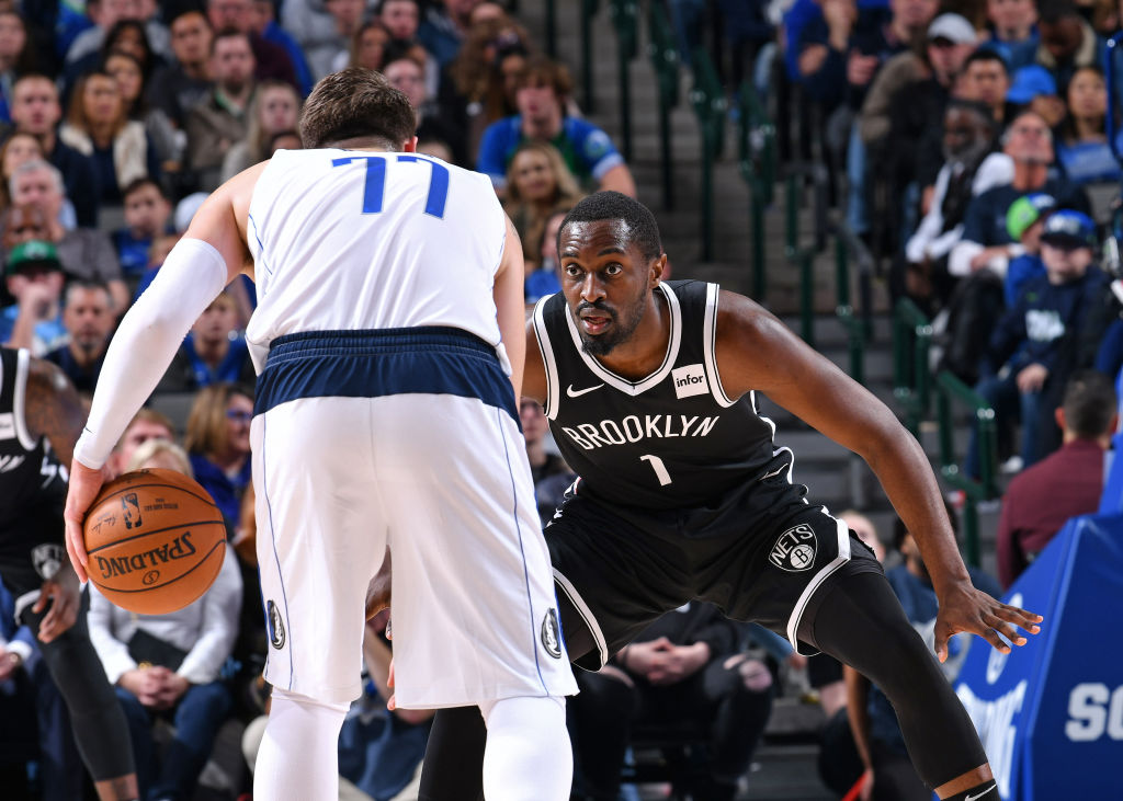 Theo Pinson of the Brooklyn Nets