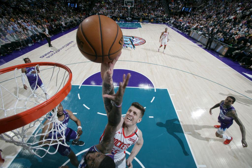 Isaiah Hartenstein of the Houston Rockets