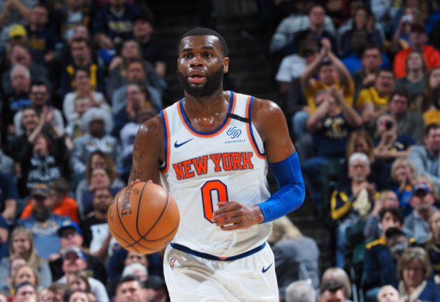 Kadeem Allen of the New York Knicks