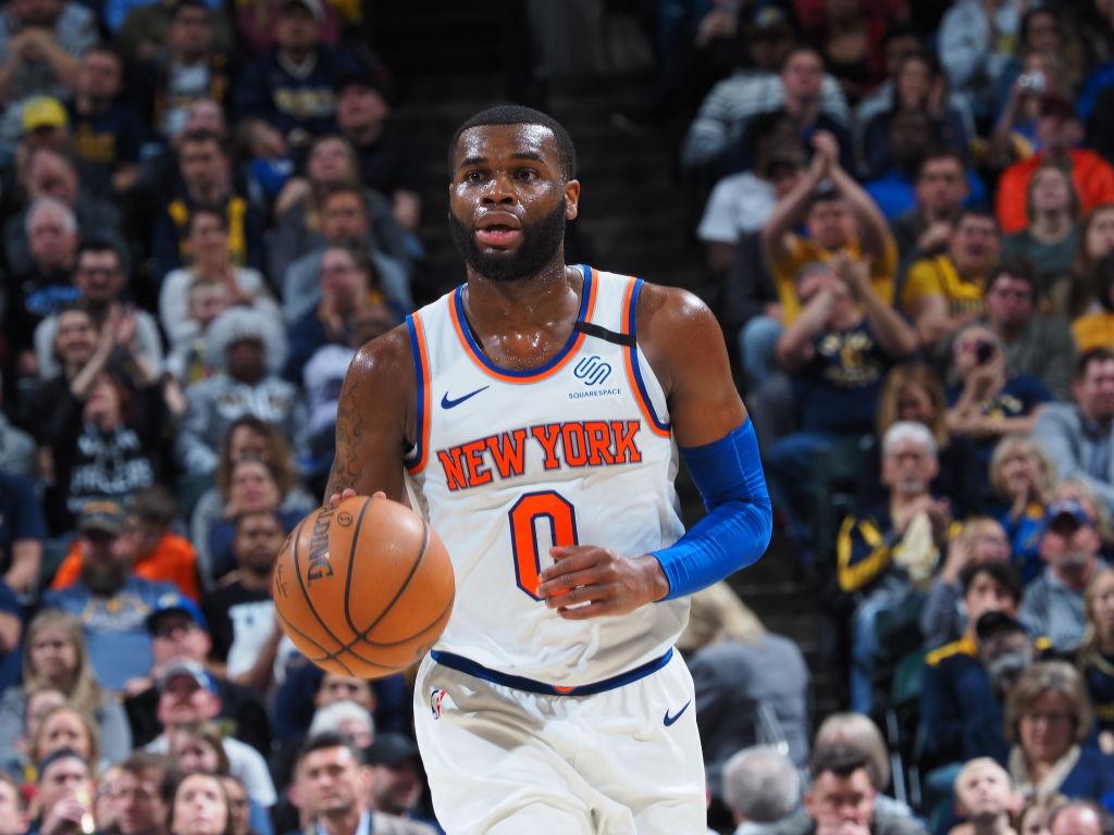 Kadeem Allen of the New York Knicks