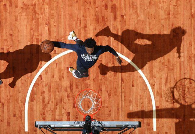 Jordan Bell of the Memphis Grizzlies
