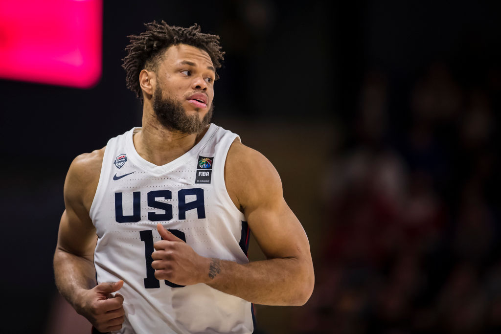 Justin Anderson of Team USA