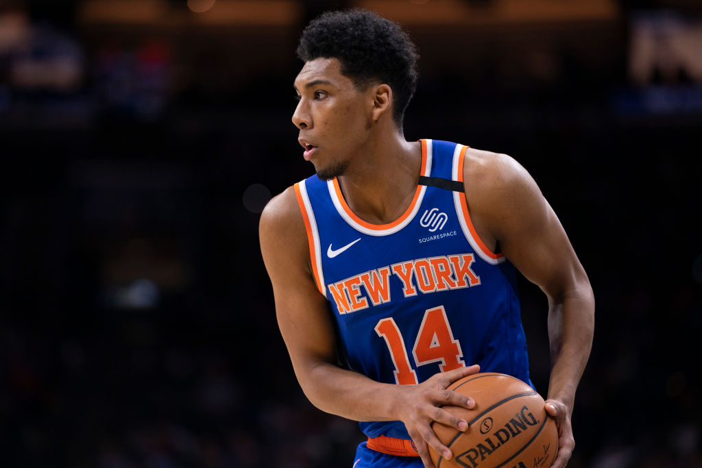 Allonzo Trier of the New York Knicks
