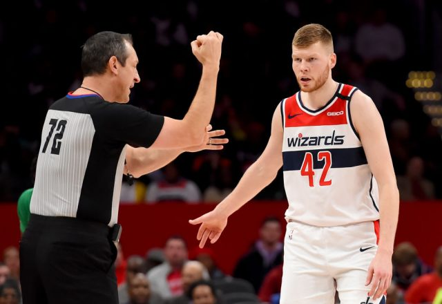 Davis Bertans of the Washington Wizards