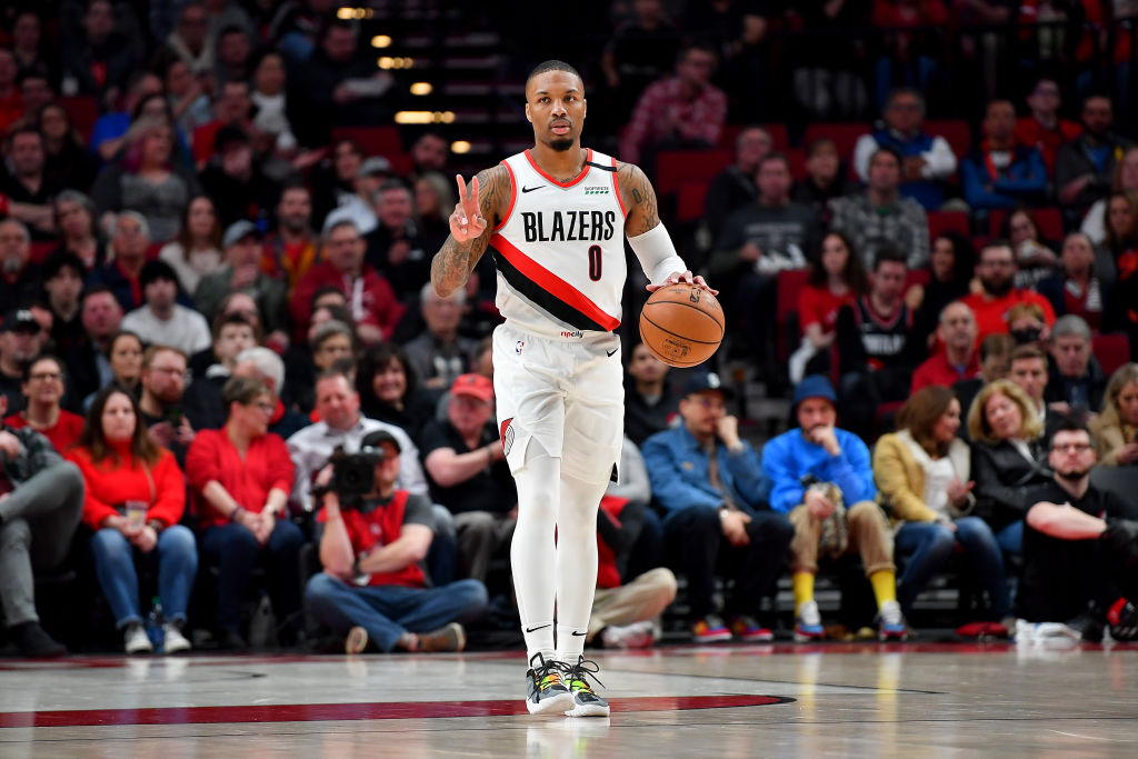 Damian Lillard Is the Cover Star of National Basketball Association 2K21: Official Photos
