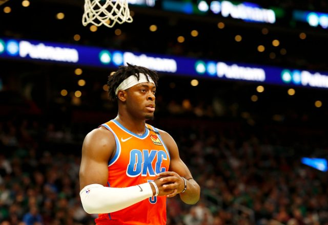 Luguentz Dort of the Oklahoma City Thunder