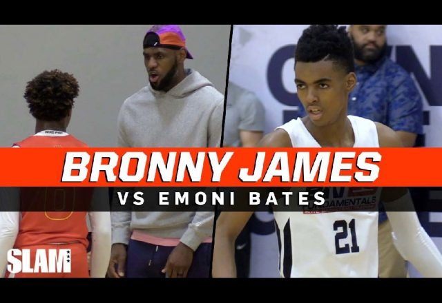 bronny james emoji bates
