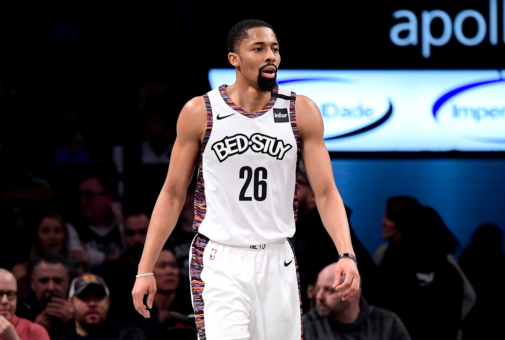 Nets' Dinwiddie tests positive for COVID-19