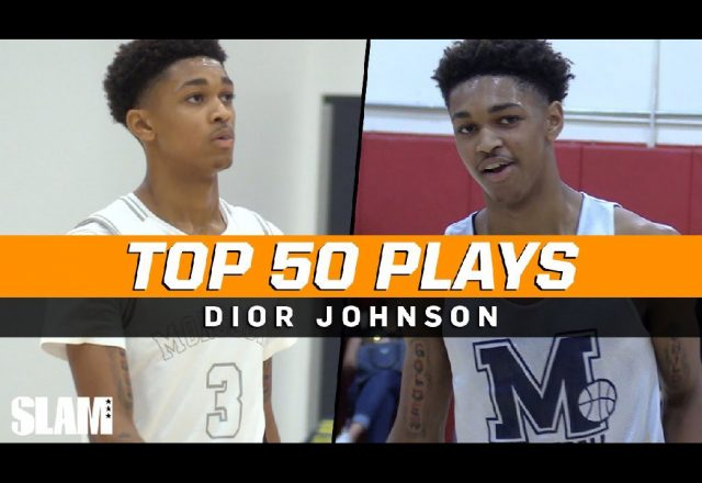 dior johnson top plays