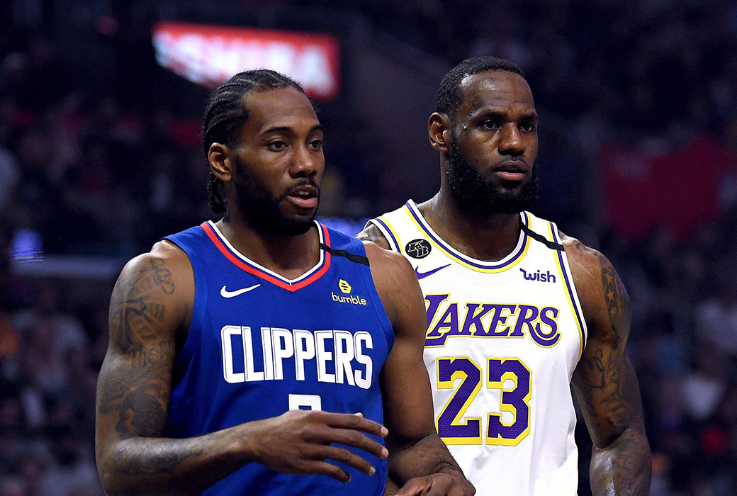 NBA Re-Opening Night Odds: Lakers-Clippers Pick'Em
