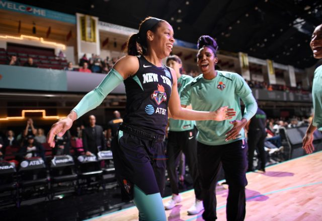 Asia Durr of the New York Liberty