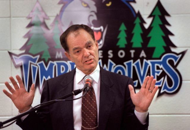 Glen Taylor of the Minnesota Timberwolves