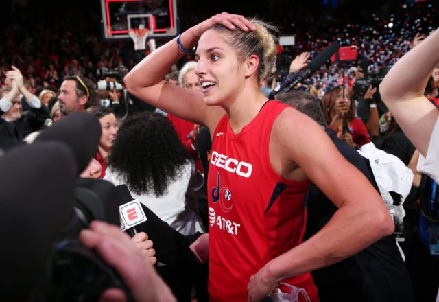 Elena Delle Donne of the Washington Mystics
