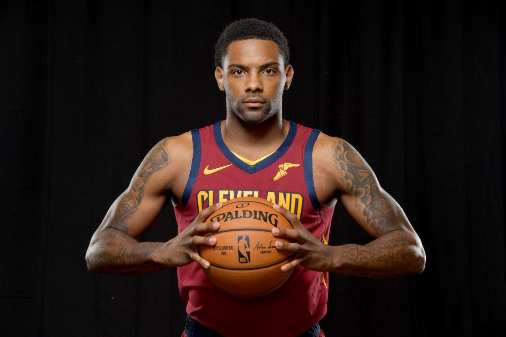 Sindarius Thornwell of the Cleveland Cavaliers