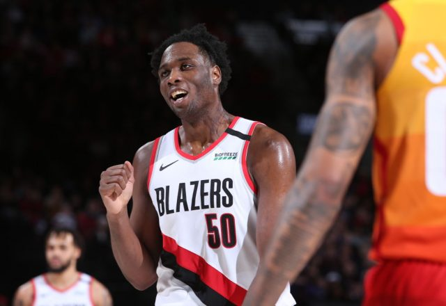 Caleb Swanigan of the Portland Trail Blazers
