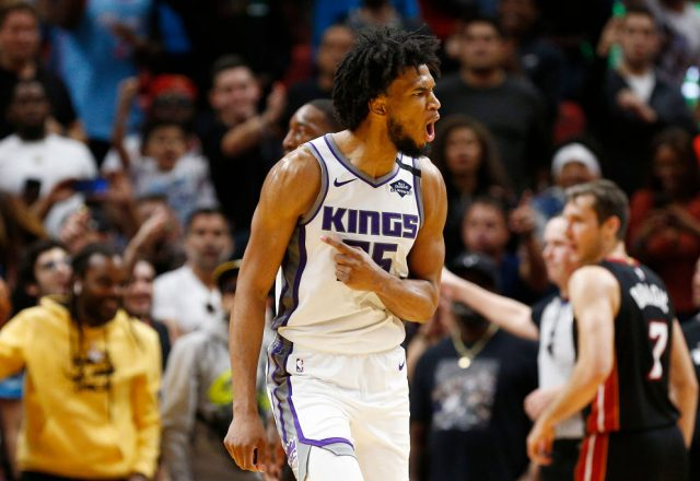 Marvin Bagley III of the Sacramento Kings