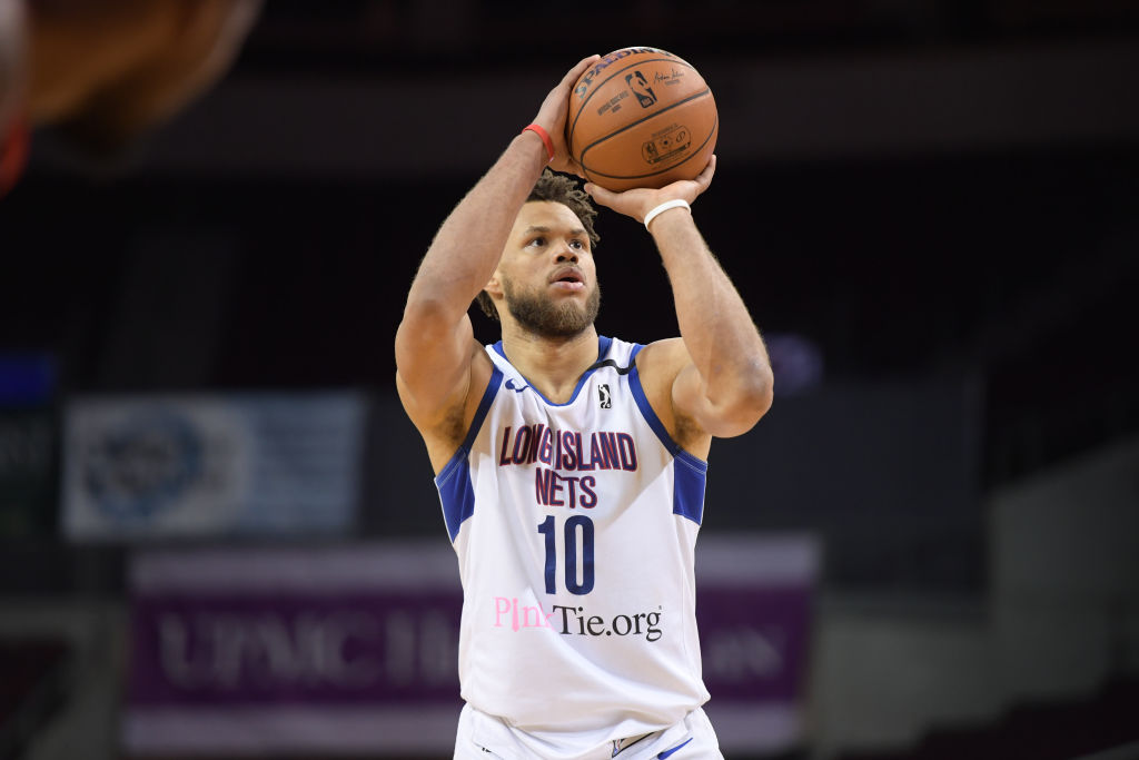 Justin Anderson of the Long Island Nets