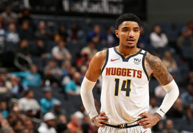 Gary Harris of the Denver Nuggets