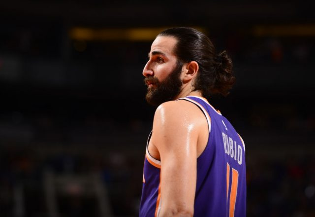 Ricky Rubio of the Phoenix Suns