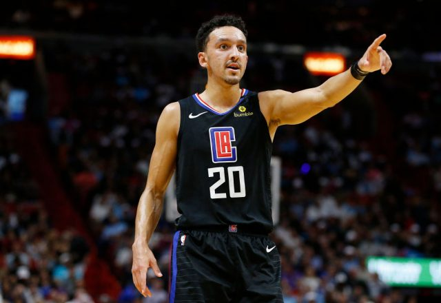 Landry Shamet of the Los Angeles Clippers