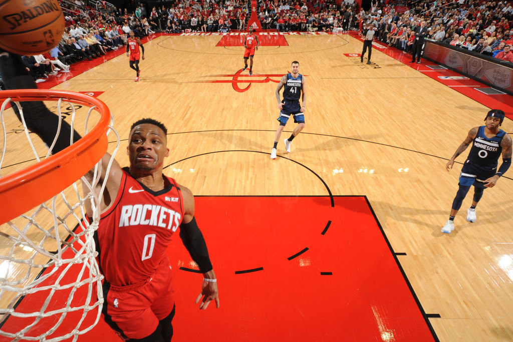 Rockets' Russell Westbrook in quarantine after testing positive for COVID-19