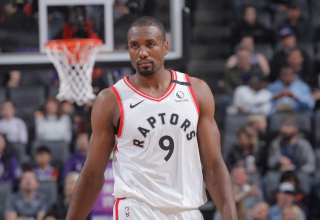 Serge Ibaka of the Toronto Raptors