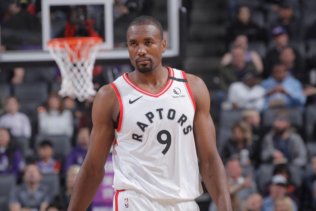 Serge Ibaka of the Toronto Raptors