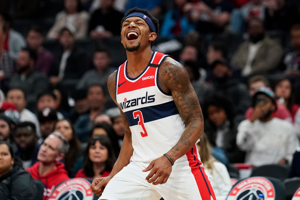 Bradley Beal to miss NBA restart due to shoulder injury