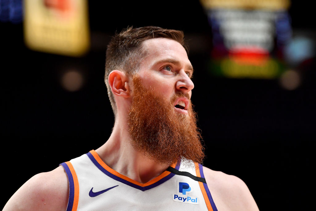 Aron Baynes of the Phoenix Suns