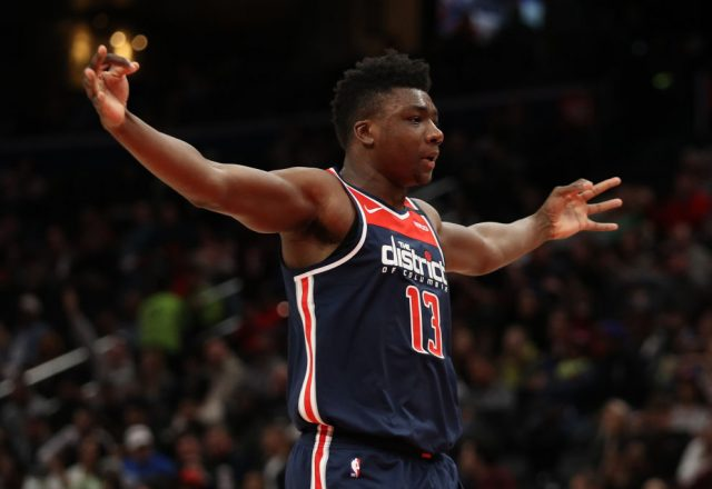 Thomas Bryant of the Washington Wizards