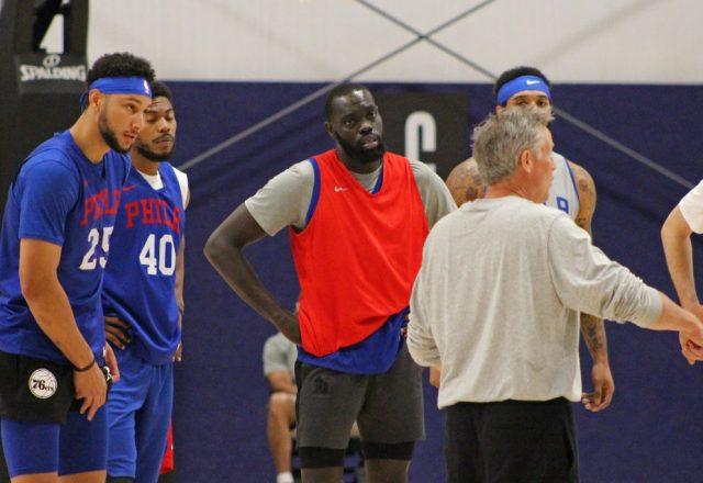 Philadelphia 76ers Practice