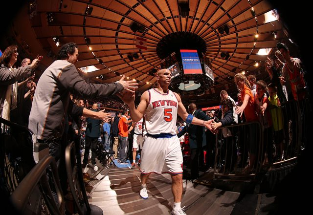 Jason Kidd of the New York Knicks