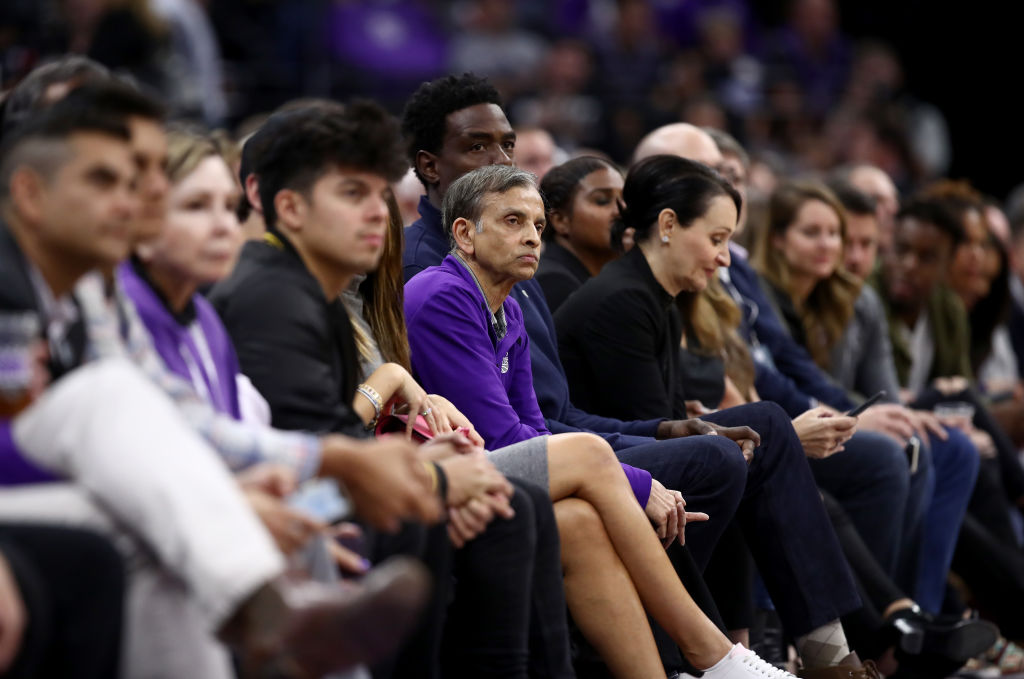 Vivek Ranadive of the Sacramento Kings