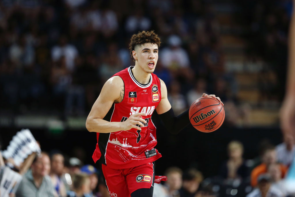 LaMelo Ball of the Illawarra Hawks