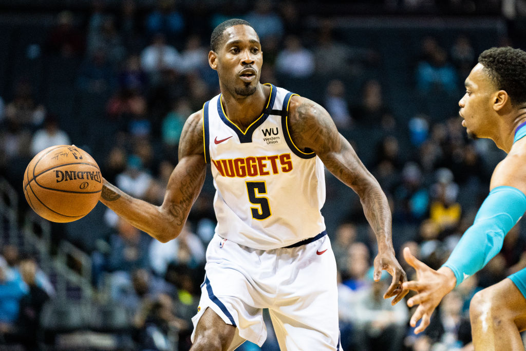 Will Barton of the Denver Nuggets
