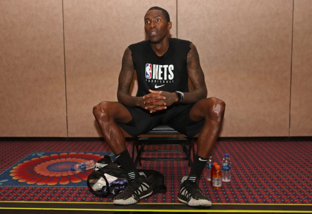 Jamal Crawford of the Brooklyn Nets