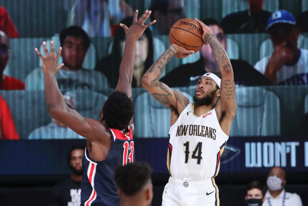 Brandon Ingram of the New Orleans Pelicans