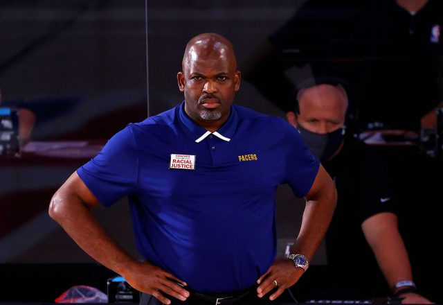 Nate McMillan of the Indiana Pacers