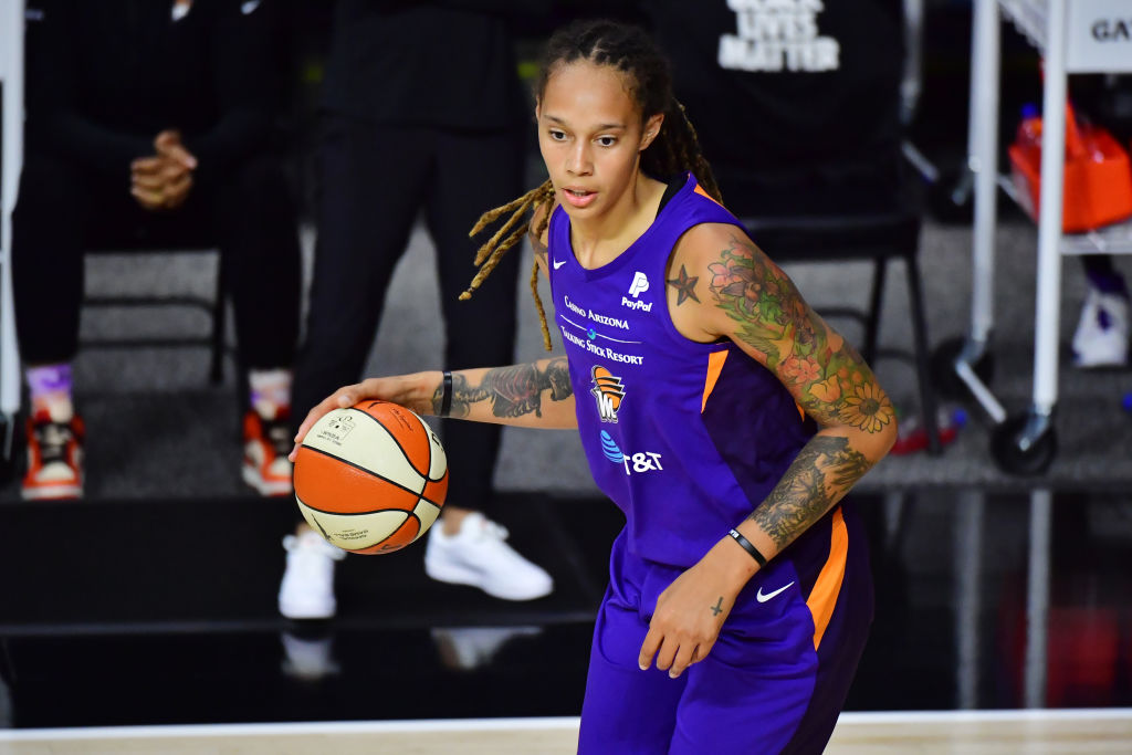 Brittney Griner of the Phoenix Mercury