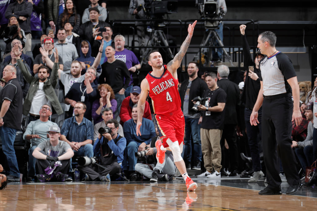 JJ Redick of the New Orleans Pelicans