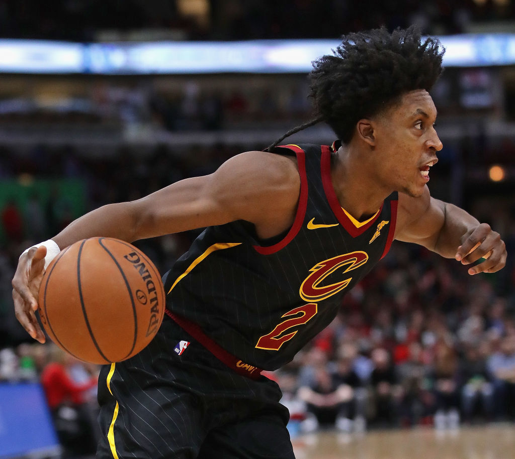 Collin Sexton of the Cleveland Cavaliers
