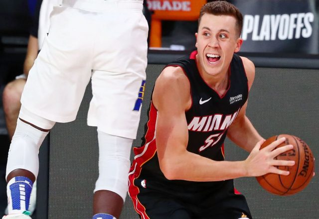 Duncan Robinson of the Miami Heat