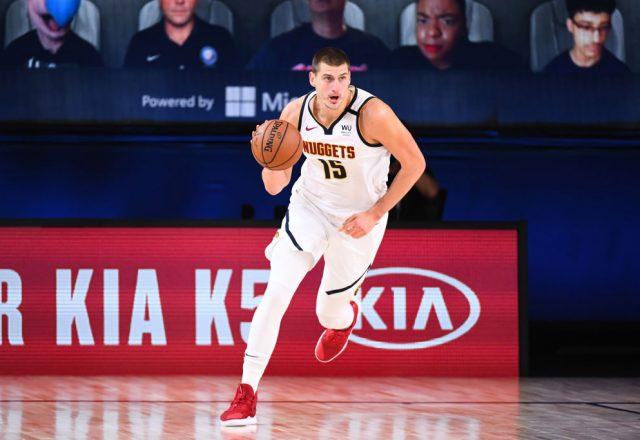 Nikola Jokic of the Denver Nuggets