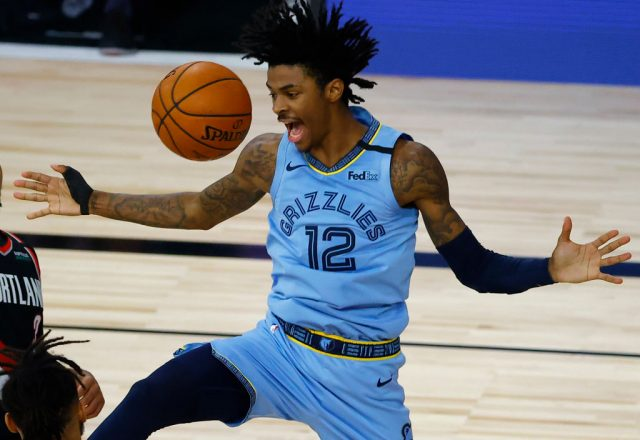 Ja Morant of the Memphis Grizzlies