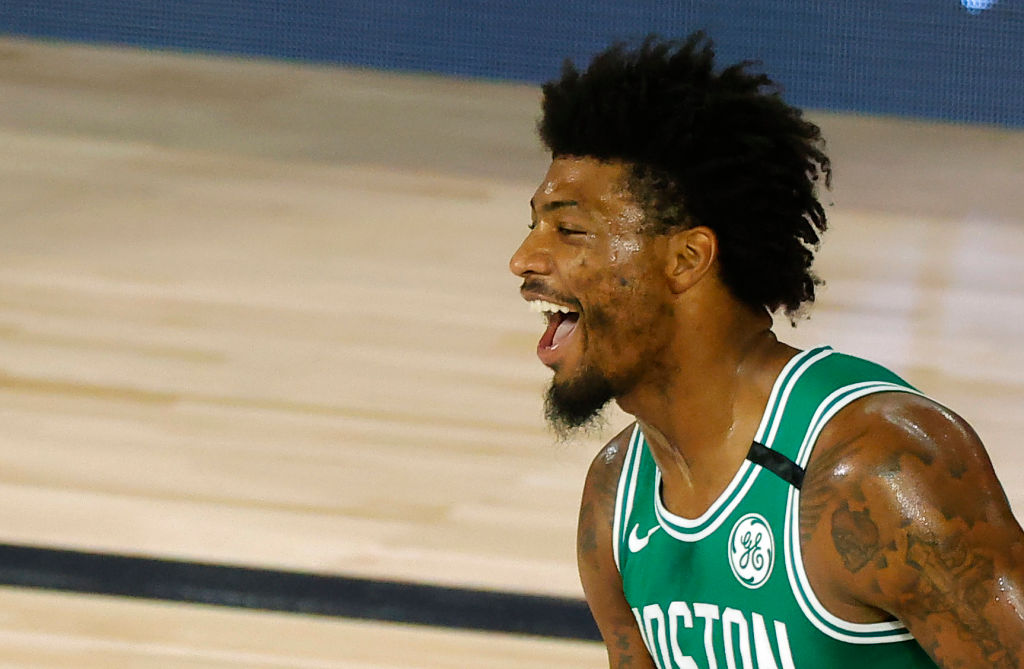 Marcus Smart of the Boston Celtics
