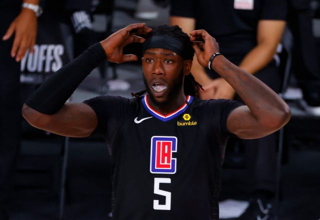 Montrezl Harrell of the Los Angeles Clippers