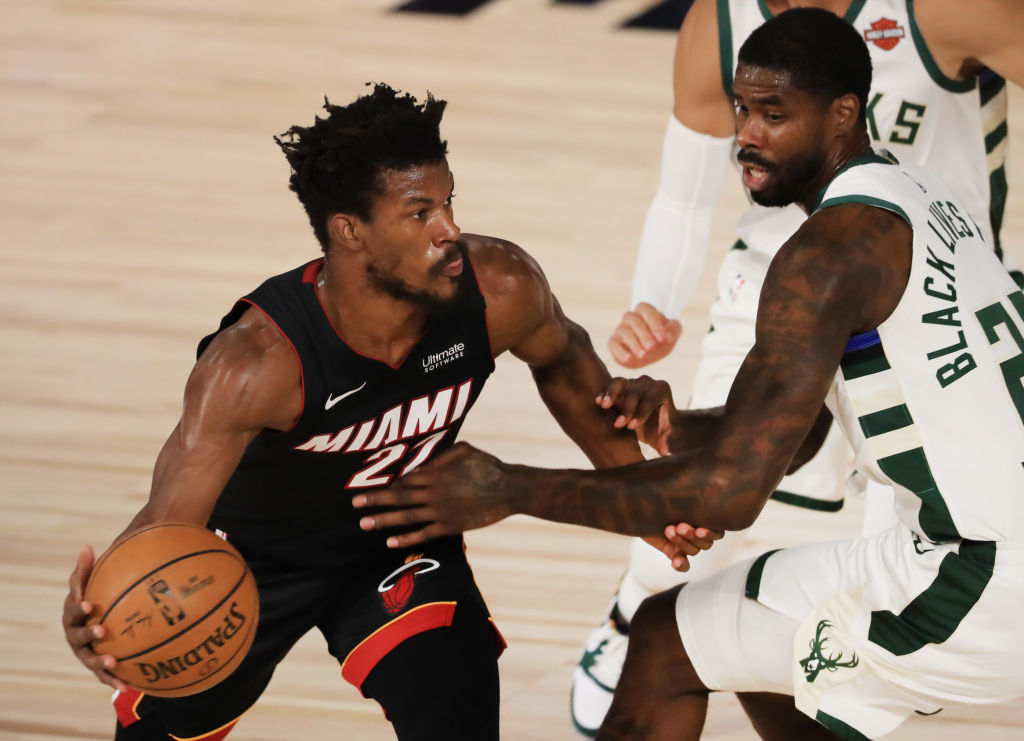 Jimmy Butler of the Miami Heat