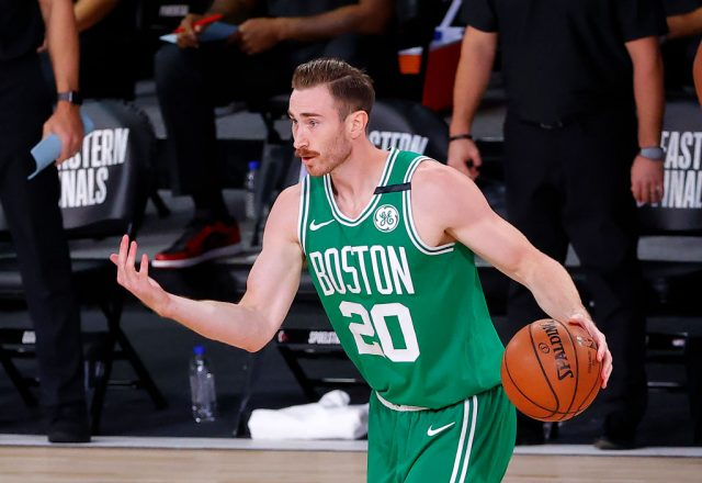 Gordon Hayward of the Boston Celtics